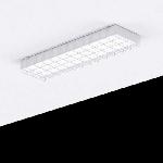 """Светодиодный светильник """"ВАРТОН"""" спортивный накладной 595*200*50мм с защитной сеткой"""