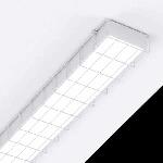 """Светодиодный светильник """"ВАРТОН"""" спортивный  накладной 1195*200*50мм IP40 с защитной сеткой"""