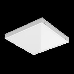 """Светодиодный светильник """"ВАРТОН"""" тип кромки Tegular (Prelude 24) 574*587*58 мм с равномерной засветкой"""