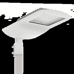 """Светодиодный светильник """"ВАРТОН"""" уличный Tornado крепление на консоль белый"""