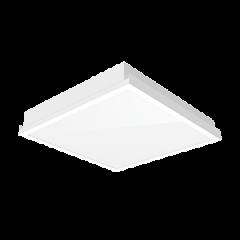 """Светодиодный светильник """"ВАРТОН"""" тип кромки Clip-In (V-Clip) 600*600*60мм с равномерной засветкой с рассеивателем опал"""