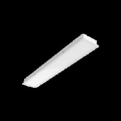 """Светодиодный светильник """"ВАРТОН"""" G170  для гипсокартонных потолков 615*198*67мм  монтажный размер 595х180мм"""