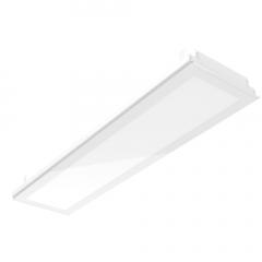 """Светодиодный светильник """"ВАРТОН"""" тип кромки Vector (Prelude 24) 1194*294*57 мм c равномерной засветкой"""
