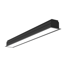 """Светодиодный светильник""""ВАРТОН"""" Universal-Line встраиваемый 860*100*69мм черный матовый"""