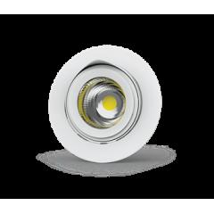 """Светильник LED """"ВАРТОН"""" DL/R встраиваемый поворотный 40° 165*125мм белый (155mm)"""