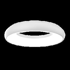 """Светодиодный светильник """"ВАРТОН"""" NIMBUS подвесной/накладной 35Вт 400х68мм 4000К IP40 с рассеивателем опал белый"""