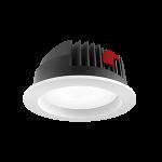 """Светильник светодиодный """"ВАРТОН"""" DL-PRO 54W круглый встраиваемый 226*96 IP65 монтажное отверстия 200-215мм"""