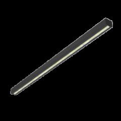 """Светодиодный светильник Mercury LED Mall """"ВАРТОН"""" 1460*66*58 мм 58°x121° RAL9005 черный матовый"""
