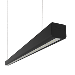 """Светодиодный светильник Mercury LED Mall """"ВАРТОН"""" 885*66*58 мм опал черный матовый"""