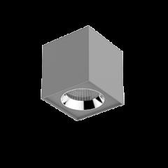 "Светильник LED ""ВАРТОН"" DL-02 Cube накладной 125*135 35° серый матовый"