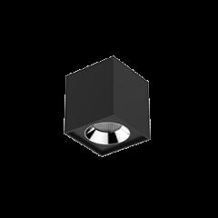 """Светильник LED """"ВАРТОН"""" DL-02 Cube накладной 100*110 35°черный матовый"""