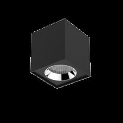 """Светильник LED """"ВАРТОН"""" DL-02 Cube накладной 125*135 35° черный матовый"""