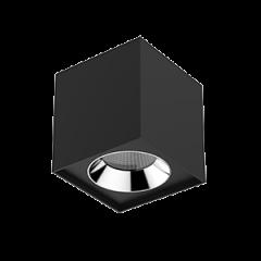 """Светильник LED """"ВАРТОН"""" DL-02 Cube накладной 150*160 35° черный матовый"""