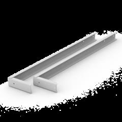 Кронштейн 600 мм для крепления светильника для школьных досок (с набором крепежей) Varton