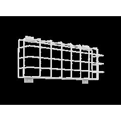 Защитная решетка для аварийного светильника IP65 390х134мм белая с набором креплений Varton
