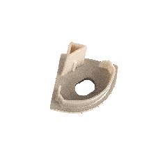 Торцевая крышка для углового профиля с отверстием