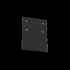 Крышка торцевая Т-Лайн черный RAL9005 1к-кт