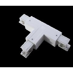 Соединитель Т-образный правый (внутренний) белый
