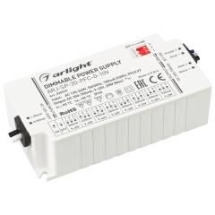 Блок питания ARJ-SP-20-PFC-0-10V (20W, 350-700mA) (ARL, IP20 Пластик, 5 лет)