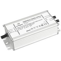 Блок питания ARPV-UH24100-PFC-0-10V (24V, 4.2A, 100W) (ARL, IP67 Металл, 7 лет)