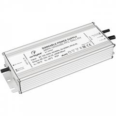 Блок питания ARPV-UH24400-PFC-0-10V (24V, 16.7A, 400W) (ARL, IP67 Металл, 7 лет)