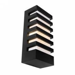 Бра Maytoni Remsa 60Вт, 262x122x85мм, белый/черный