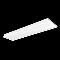 """Светодиодный светильник """"ВАРТОН"""" тип кромки Clip-In 1200*300*100 мм опал ПК с равномерной засветкой"""