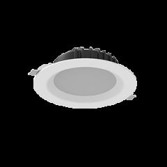 """Cветильник светодиодный """"ВАРТОН"""" DL-01 16/25W Downlight круглый встраиваемый 190*70 белый матовый"""