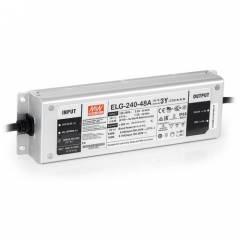 Источник питания постоянного тока 48В 240Вт IP67 Meanwell ELG-240W-48V