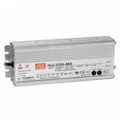 Источник питания постоянного тока 48В 320 Вт IP67 1-10V Meanwell HLG-320W-48V
