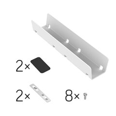 Комплект Вартон X-Line соединение в линию