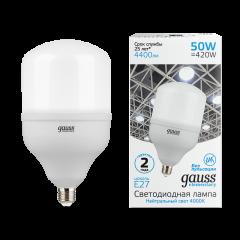 Лампа Gauss Elementary LED T140 E27 50W 4400/4500lm