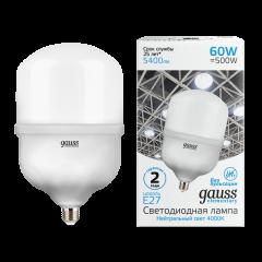 Лампа Gauss Elementary LED T160 E27 60W 5400/5600lm