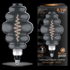 Лампа Gauss LED Filament Honeycomb GAUSS E27 8.5W Gray 165lm 1800K