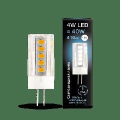 Лампа Gauss LED G4 12V 4W 4100K керамика