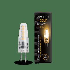 Лампа Gauss LED G4 AC220-240V 2W 2700K