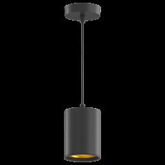 LED светильник подвесной накладной HD 12W 3000-4100K (черный, черный с золотом)  79x100