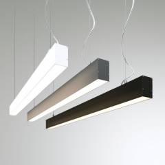 Линейный подвесной светодиодный светильник LT-PLS5070-2000-P 2000x50x70мм 51Вт 4641Лм