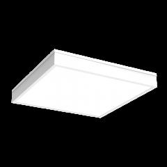 """Светодиодный светильник """"ВАРТОН""""C070/N медицинский накладной 595*595*55 мм с опаловым рассеивателем"""