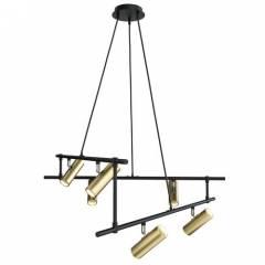 Подвесной светильник Maytoni Rami 12xGU10, белый/золотой