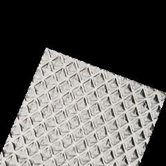 Рассеиватель призма стандарт для светильников офис 1495*295*50мм 2 шт в упаковке