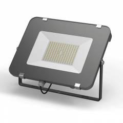 Прожектор светодиодный Gauss Qplus 300W 36000lm IP65 6500K графитовый серый