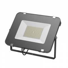 Прожектор светодиодный Gauss Qplus 50W 4250lm IP65 6500K графитовый серый