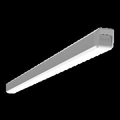 """Светодиодный светильник """"ВАРТОН"""" Q-40 повескной/накладной 1197х40х40мм IP40 с рассеивателем опал, драйвер выносной, с декоративными  проводом 2м в комплекте"""