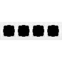 Рамка на 4 поста (белый) WL05-Frame-04-white