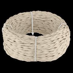 Ретро кабель витой 3х1,5 (песочный) 50 м Ретро кабель витой  3х1,5  (песочный)