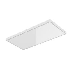 """Светодиодный светильник """"ВАРТОН"""" для потолков Rockfon c кромкой X IP40 1200x600x70 с равномрной засветкой и рассеивателем опал"""