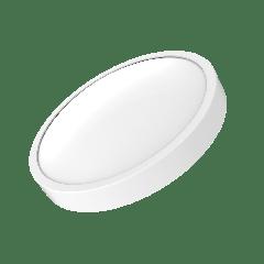 Светильник светодиодный Gauss 250х80, 12W 850лм, IP20 2700К круглый (белое кольцо)