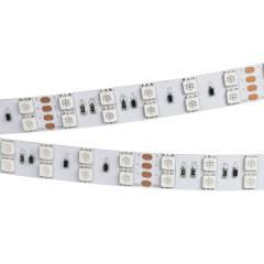 Светодиодная лента RT 2-5000 36V RGB 2X2 (5060, 600 LED, LUX) (ARL, 26 Вт/м, IP20)