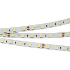 Светодиодная лента RTW 2-5000NC 24V Warm2700 2x (5060, 300 LED, LUX) (ARL, 14.4 Вт/м, IP65)
